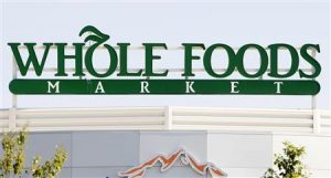 Whole Foods Market Custom Storefront Sign