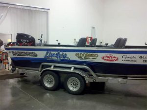 Custom Branded Boat Wrap