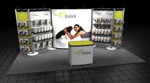 Attractive, Complete Trade Show Booth