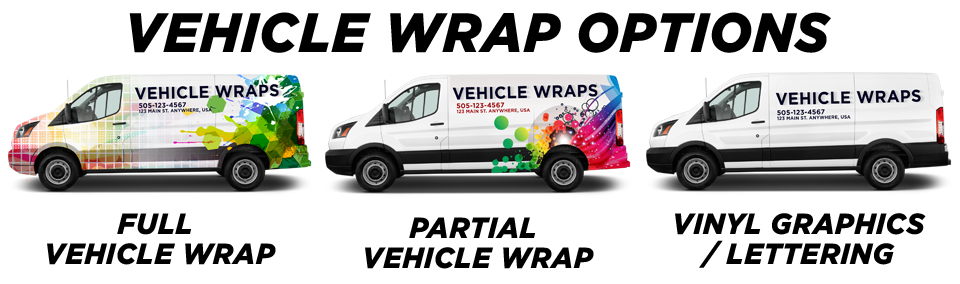 North Palm Beach Vehicle Wraps vehicle wrap options