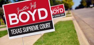 Political Yard Signs Jupiter FL